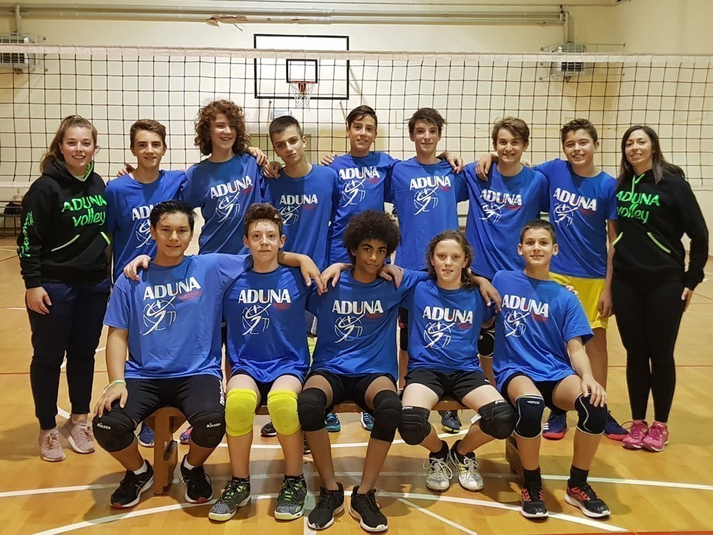 M/UNDER 14 - Aduna Volley Padova 2018 / 2019