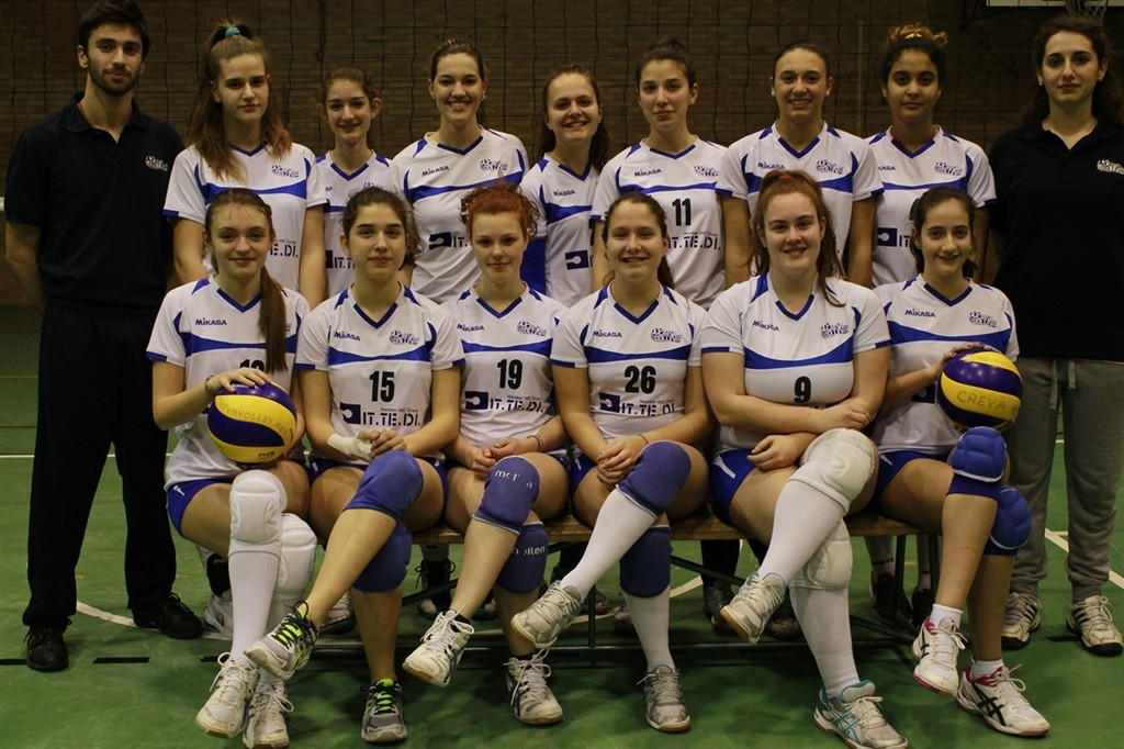 U16 F Crevavolley.net 2014 / 2015