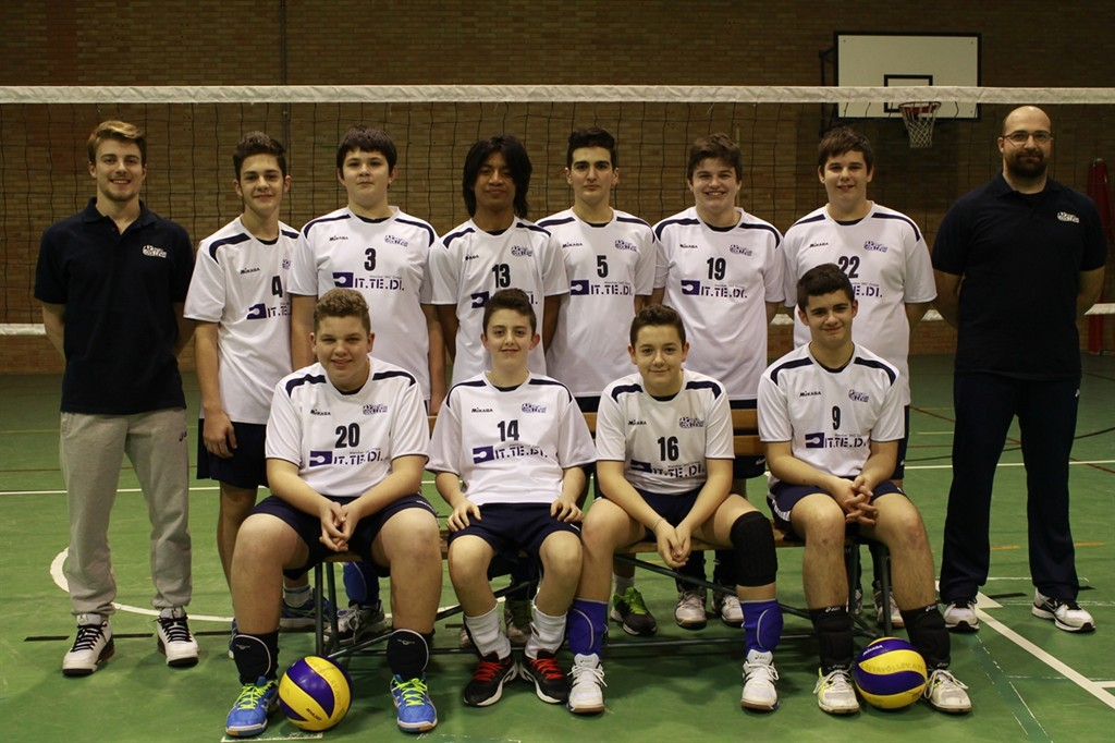 U15 M Crevavolley.net 2014 / 2015
