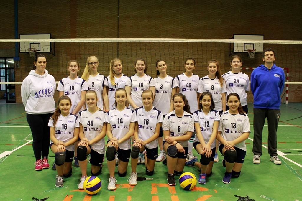 U14 F Crevavolley 2016 / 2017