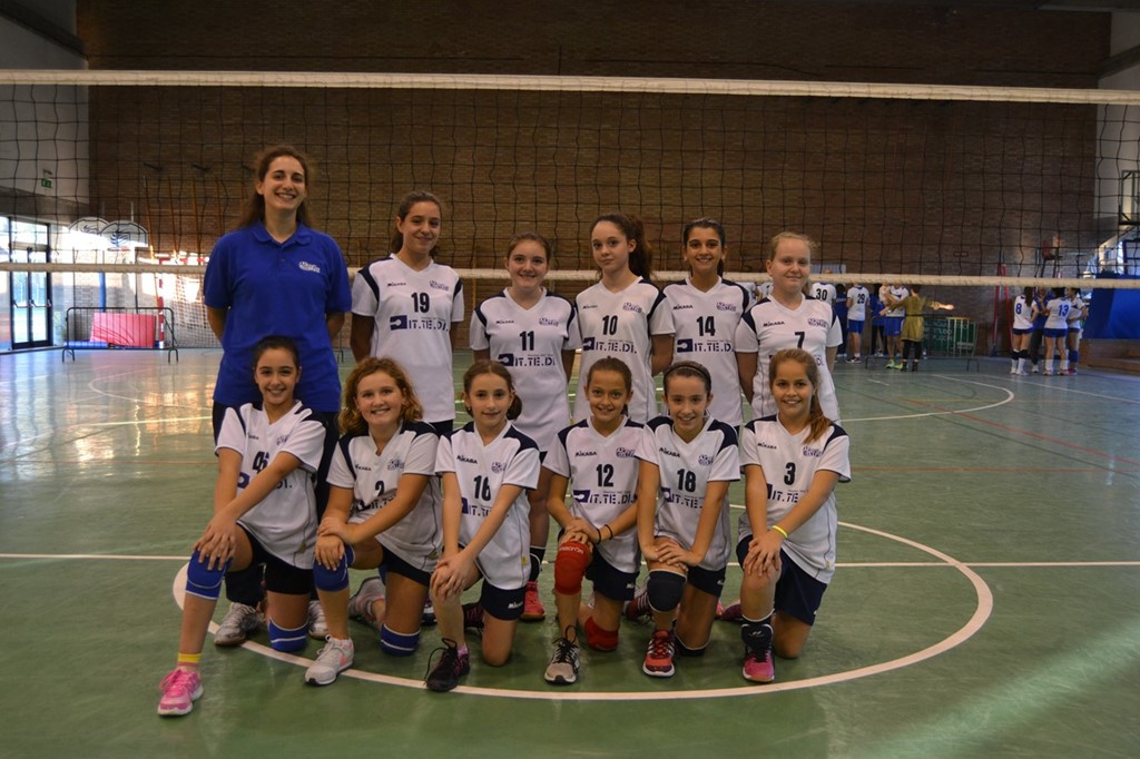 Under 13 F Crevavolley 2017 / 2018