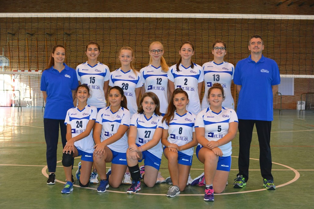Under 14 F Crevavolley 2017 / 2018