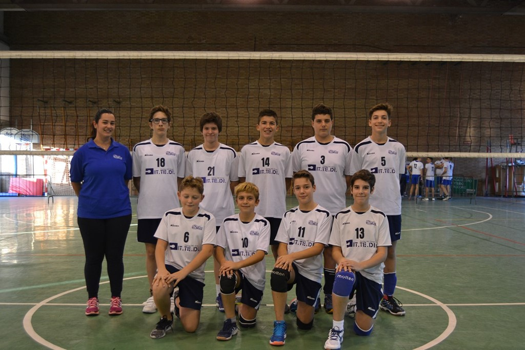 Under 14 M Crevavolley 2017 / 2018