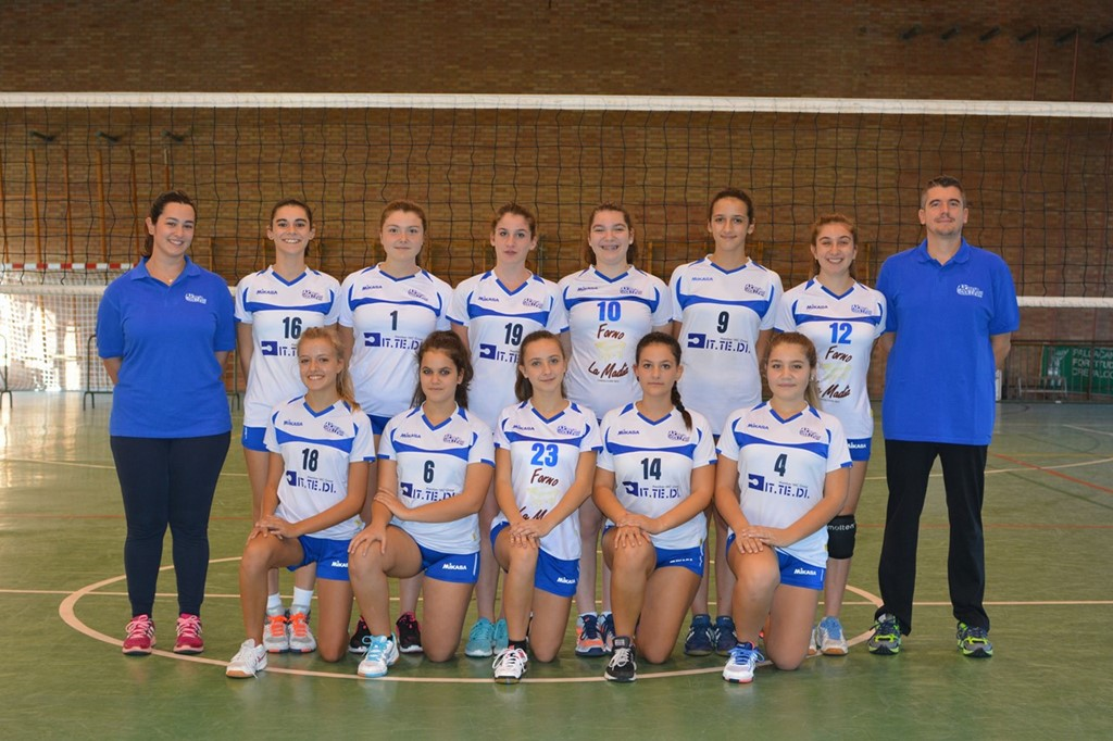 Under 16 F Crevavolley 2017 / 2018