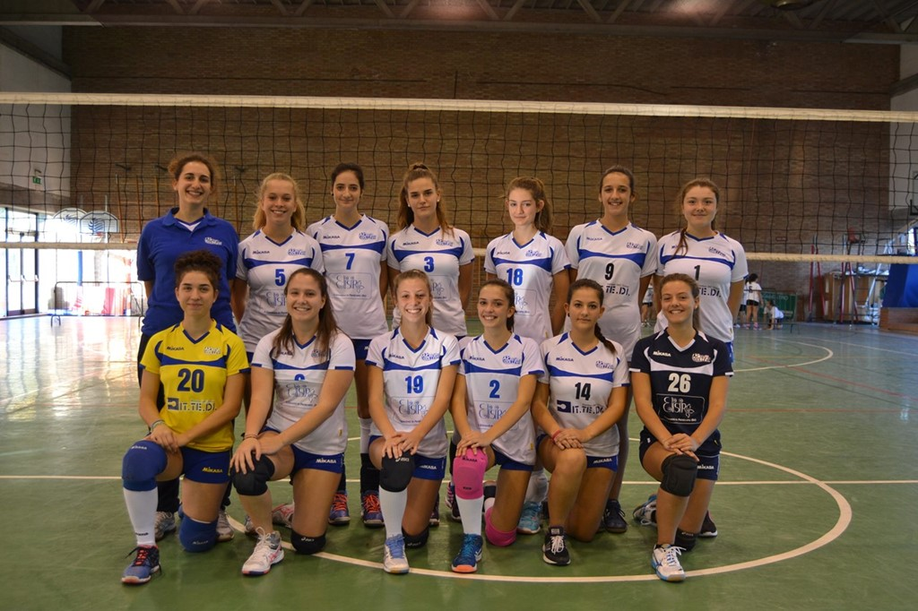 Under 18 F Crevavolley 2017 / 2018