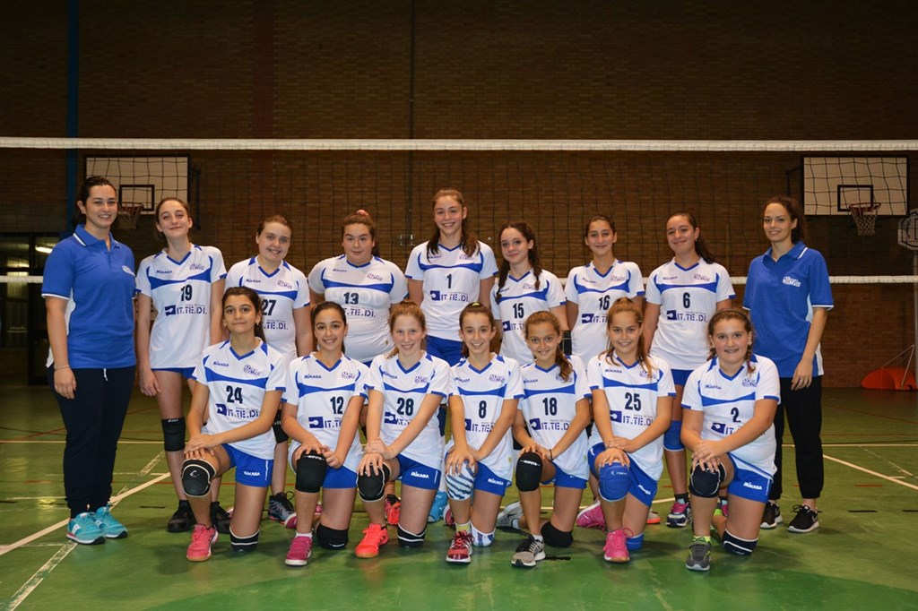 Under 14 F Crevavolley 2018 / 2019