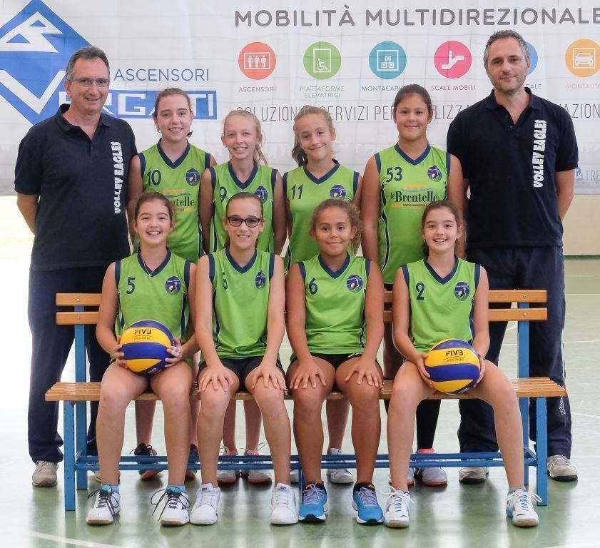 Volley Eagles  U13 Montegalda 2016 / 2017