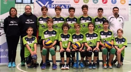 VolleyEagles VERGATI U14m 2017 / 2018
