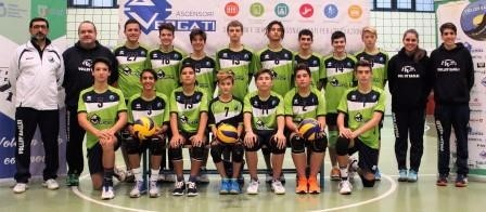 VolleyEagles VERGATI U16m 2017 / 2018