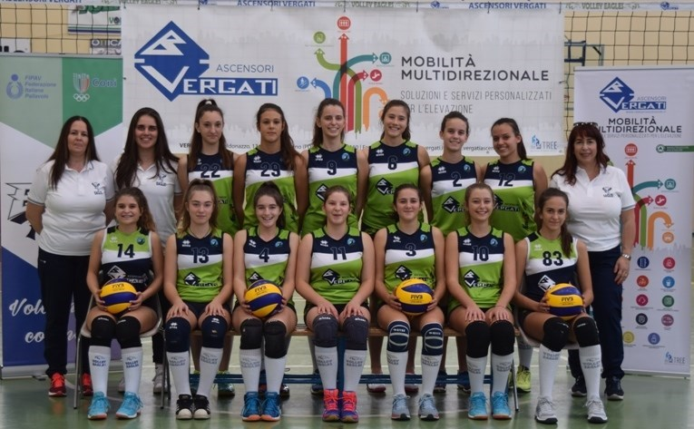 EAGLES VERGATI U16 FEMM. BLU 2018 / 2019