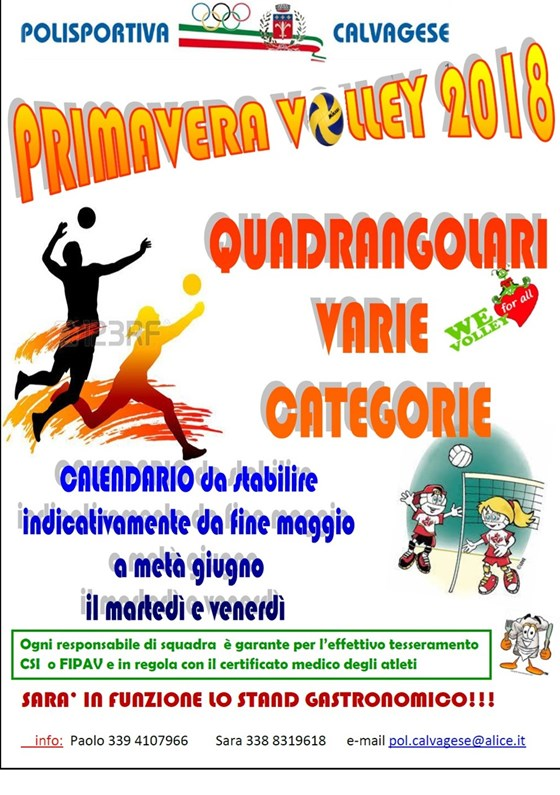 PRIMAVERA VOLLEY