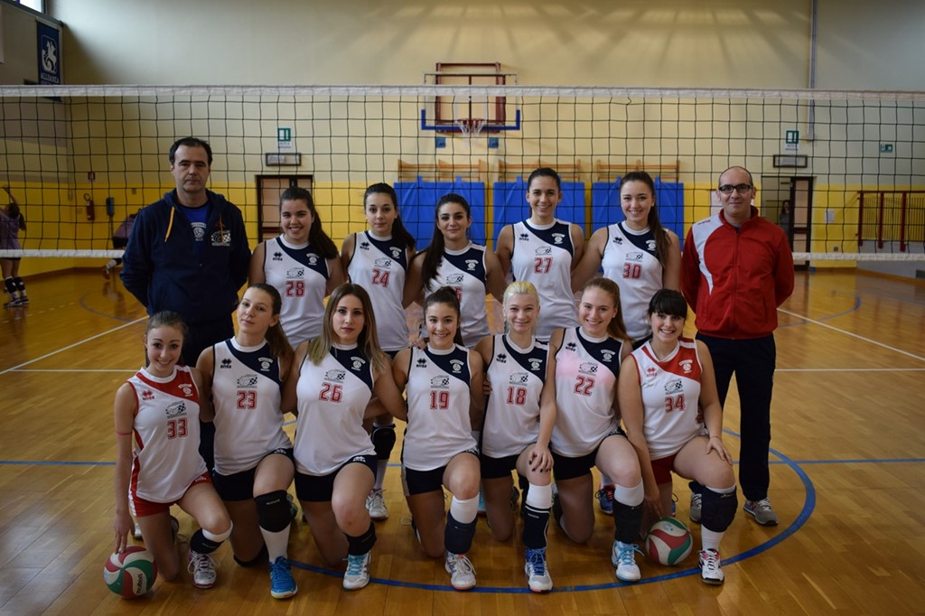 ORIZZONTI VOLLEY ARANCIO 2016 / 2017