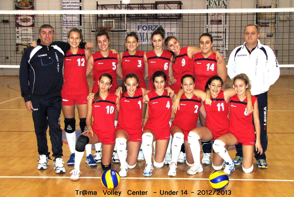 TR@MA VOLLEY CENTER ROSSO 2012 / 2013