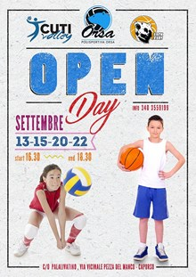 OPEN DAY ACADEMY 2017-18
