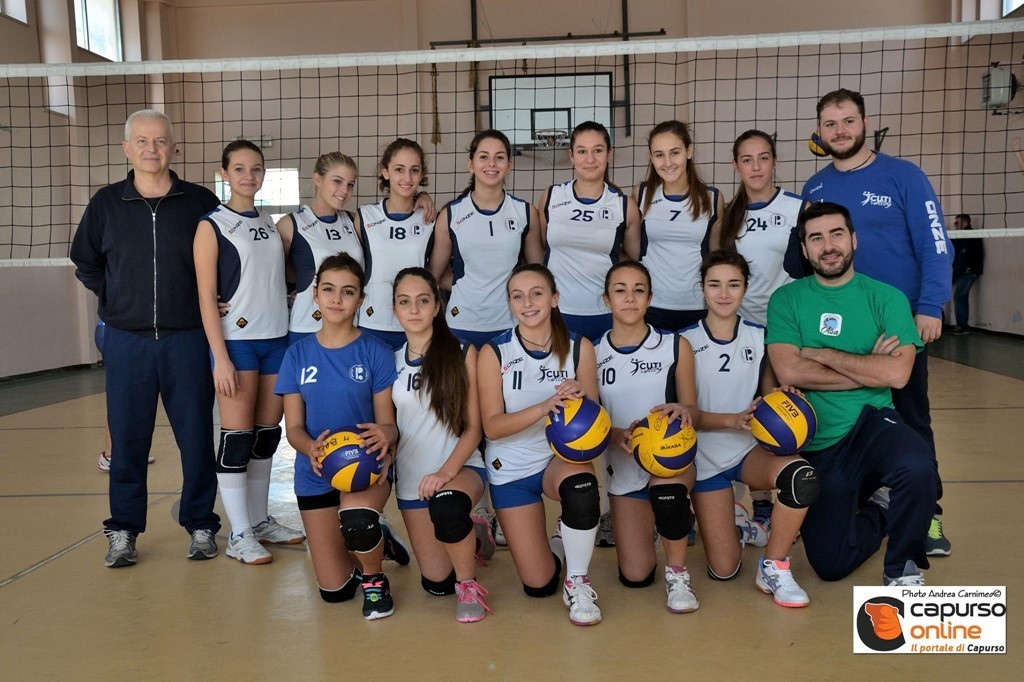 CUTI VOLLEY (U16F) 2015 / 2016