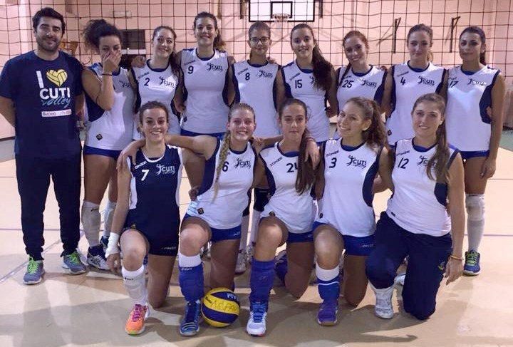 CUTI VOLLEY (U18F) 2015 / 2016