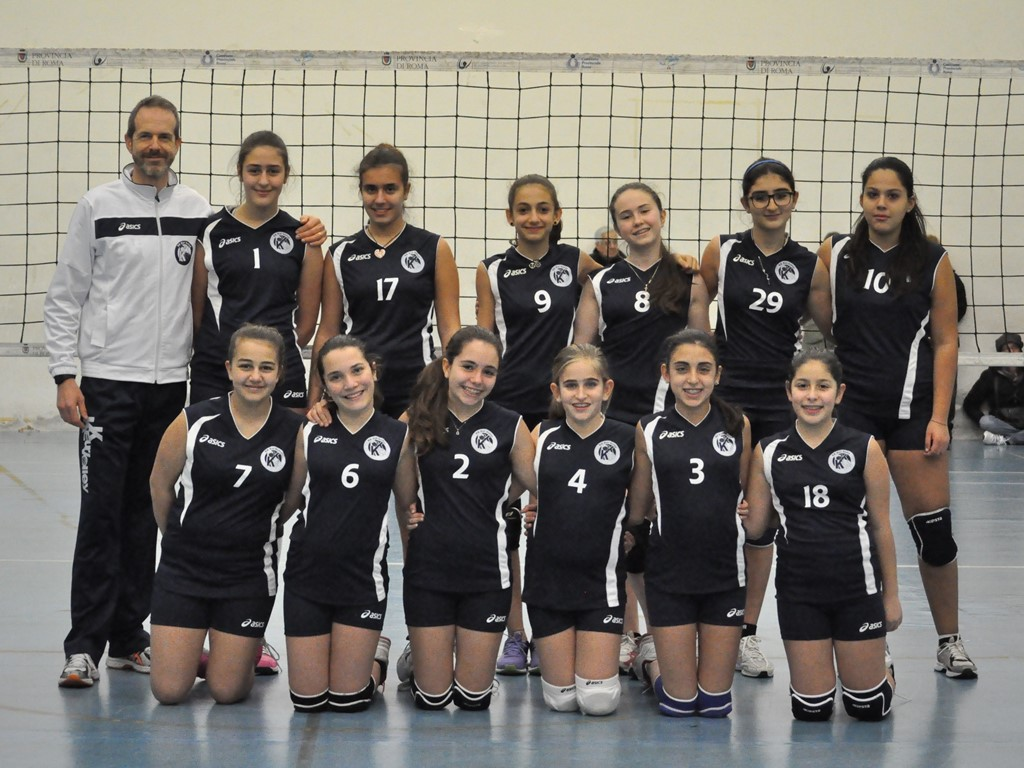 Under 14 Femminile Fonte Laurentina 2015 / 2016