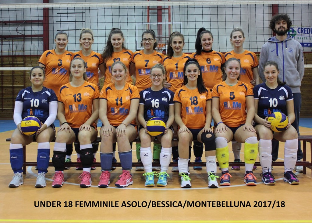 UNDER 18 FEMMINILE ASOLO & BESSICA VOLLEY 2017 / 2018