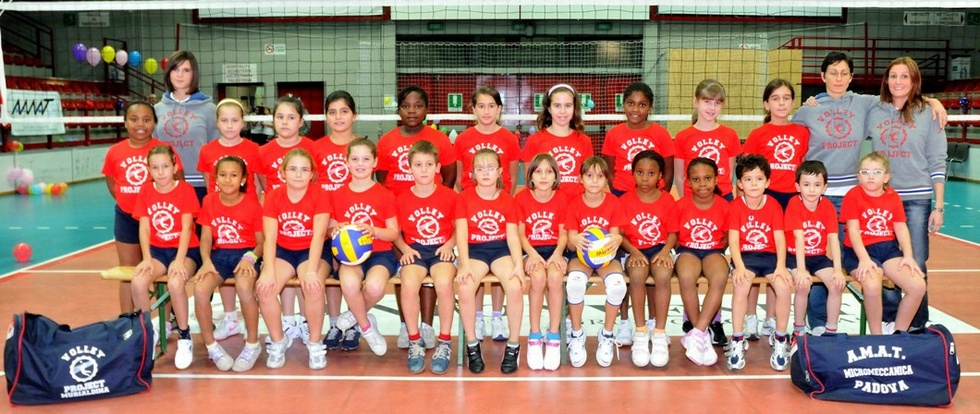 Minivolley - V. PROJECT 2010 / 2011