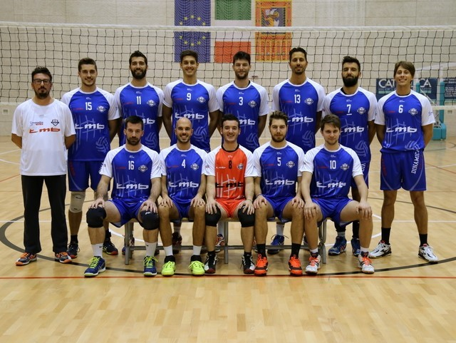 Serie B2 Maschile Dinamica Volley TMB 2015 / 2016