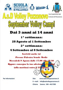 September Volley Camp 2017