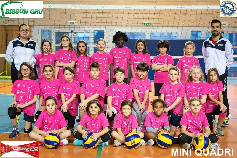 CENTRO MINIVOLLEY QUADRI 2017 / 2018